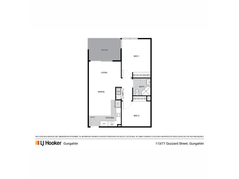 113/77 Gozzard Street, Gungahlin ACT 2912 Floorplan