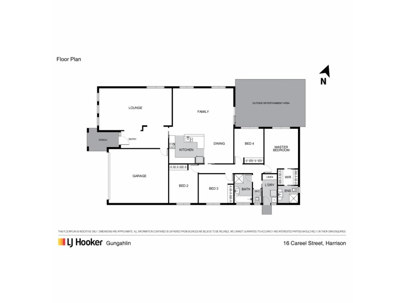 16 Careel Street, Harrison ACT 2914 Floorplan