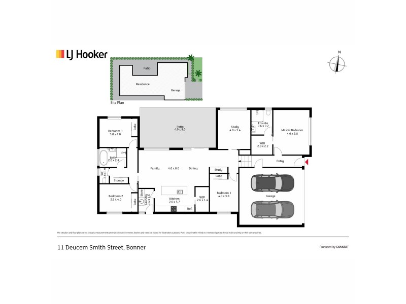 11 Deucem Smith Street, Bonner ACT 2914 Floorplan