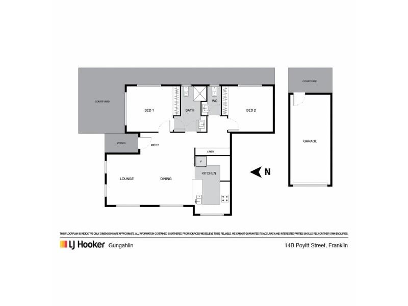 14b Poyitt Street, Franklin ACT 2913 Floorplan