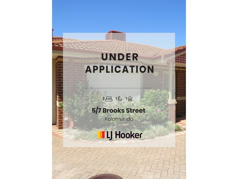 Villa 5/7 Brooks Street, Kalamunda WA 6076