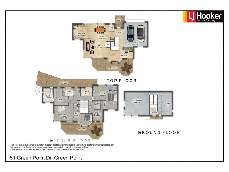 51 Green Point Drive, Green Point NSW 2428 Floorplan