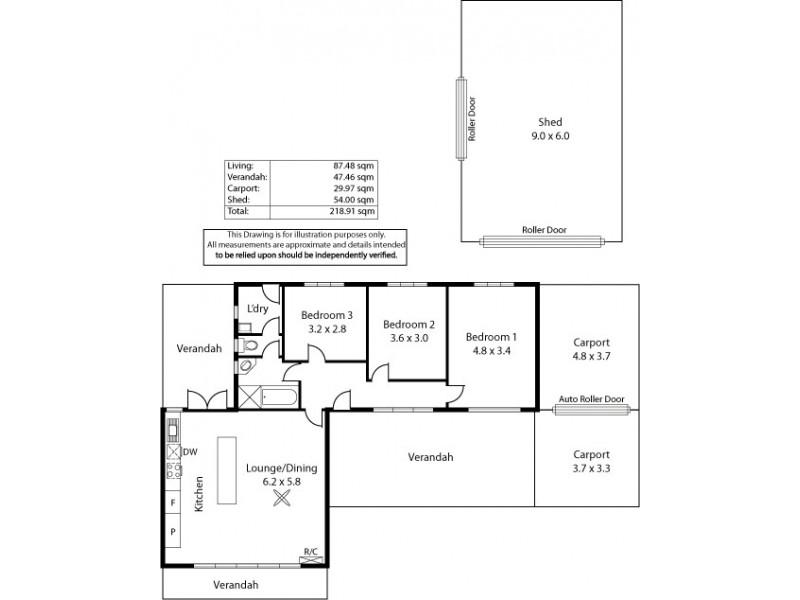 15 Broadmore Avenue, Fulham SA 5024 Floorplan