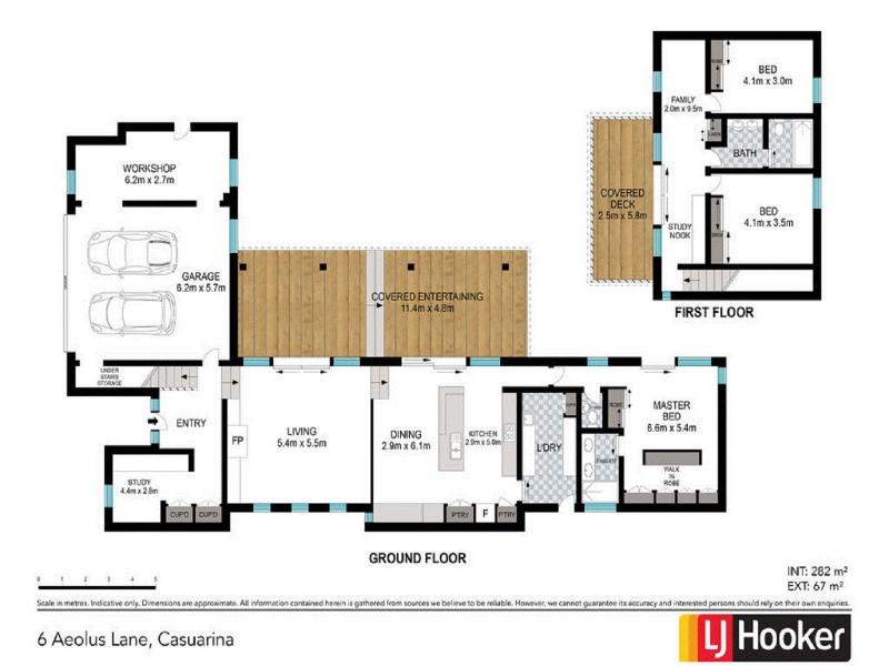 6 Aeolus Lane, Casuarina NSW 2487 Floorplan