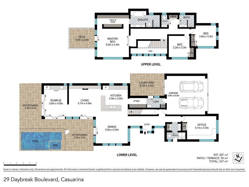 29 Daybreak Boulvard, Casuarina NSW 2487 Floorplan