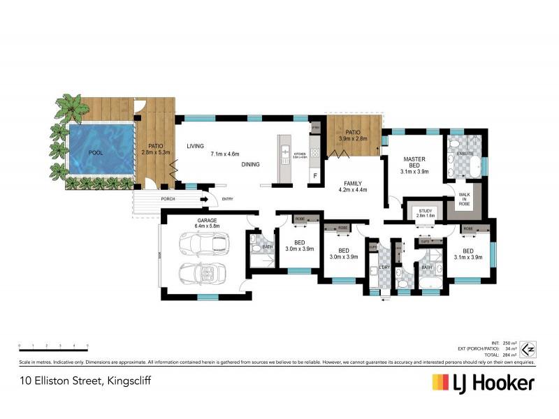 10 Elliston Street, Kingscliff NSW 2487 Floorplan