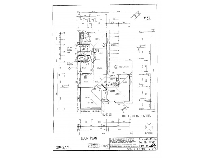9-10 Leicester Street, Birkdale QLD 4159 Floorplan