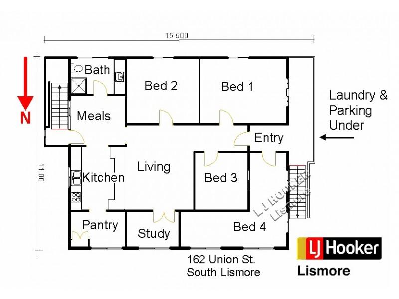 162 Union Street, Lismore South NSW 2480 Floorplan