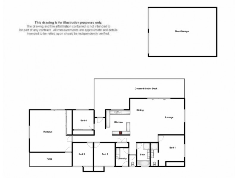 25A Colleen Place, East Lismore NSW 2480 Floorplan