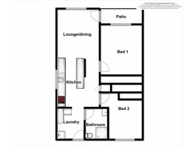 1/22 Marlyn Avenue, East Lismore NSW 2480 Floorplan