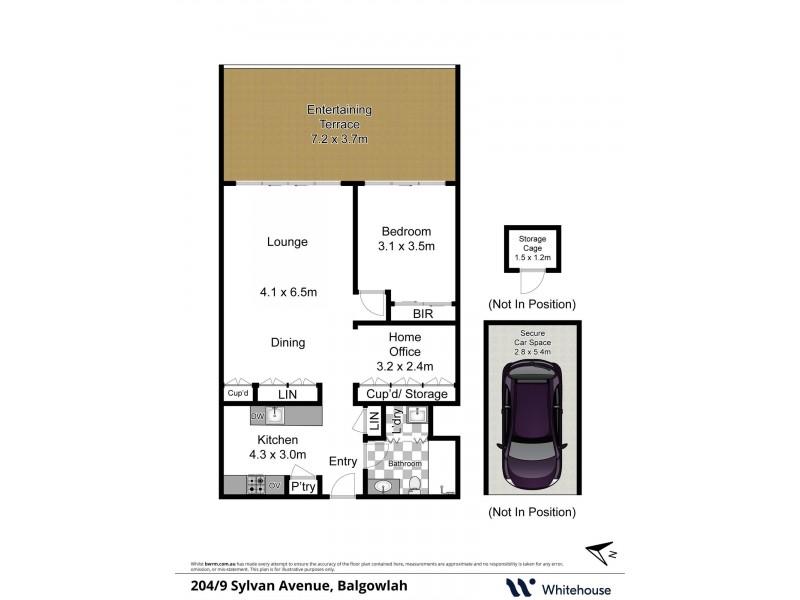 204/9 Sylvan Avenue, Balgowlah NSW 2093 Floorplan