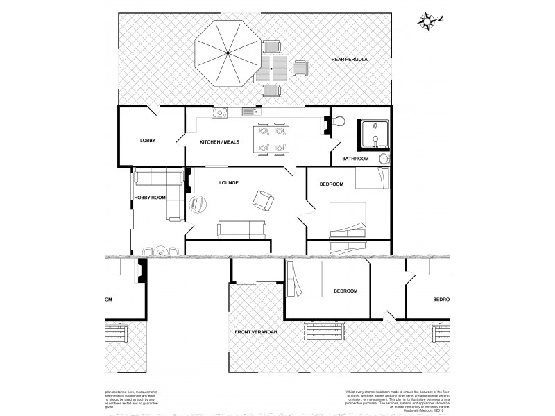 12 Fourth Street, Curramulka SA 5580 Floorplan