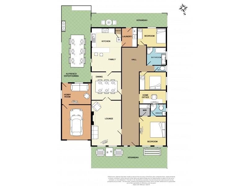 6 Third Street, Ardrossan SA 5571 Floorplan