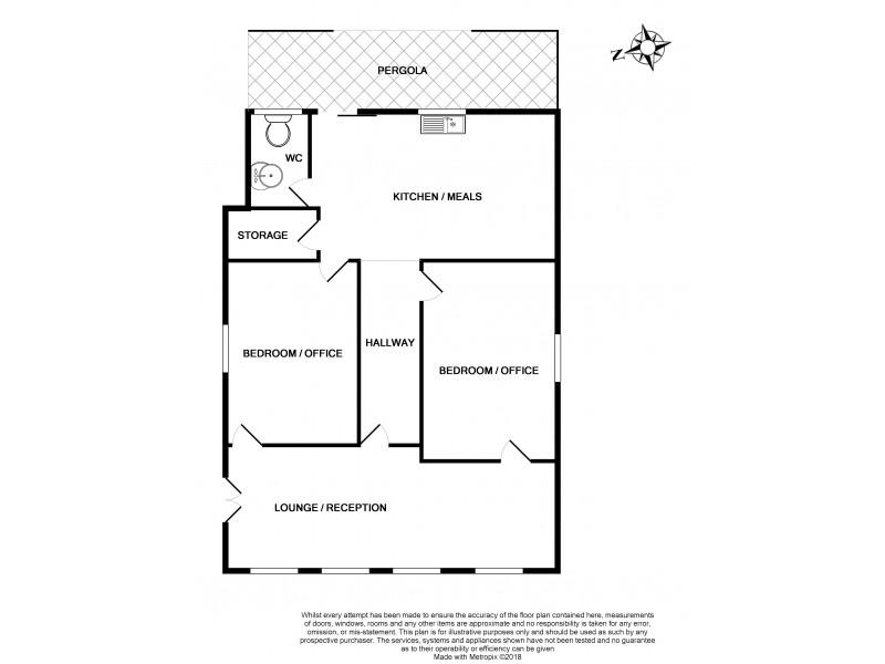 11 Fourth Street, Ardrossan SA 5571 Floorplan
