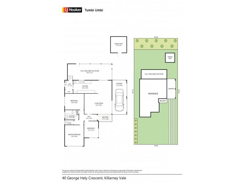 40 George Hely Crescent, Killarney Vale NSW 2261 Floorplan
