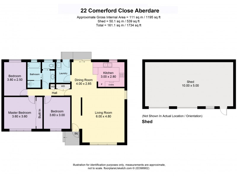 22 Comerford Close, Aberdare NSW 2325 Floorplan