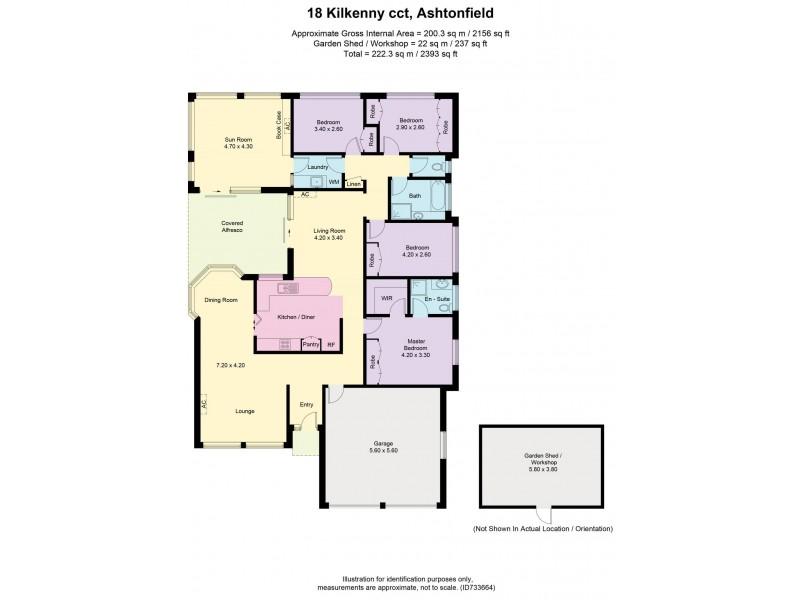 18 Kilkenny Circuit, Ashtonfield NSW 2323 Floorplan