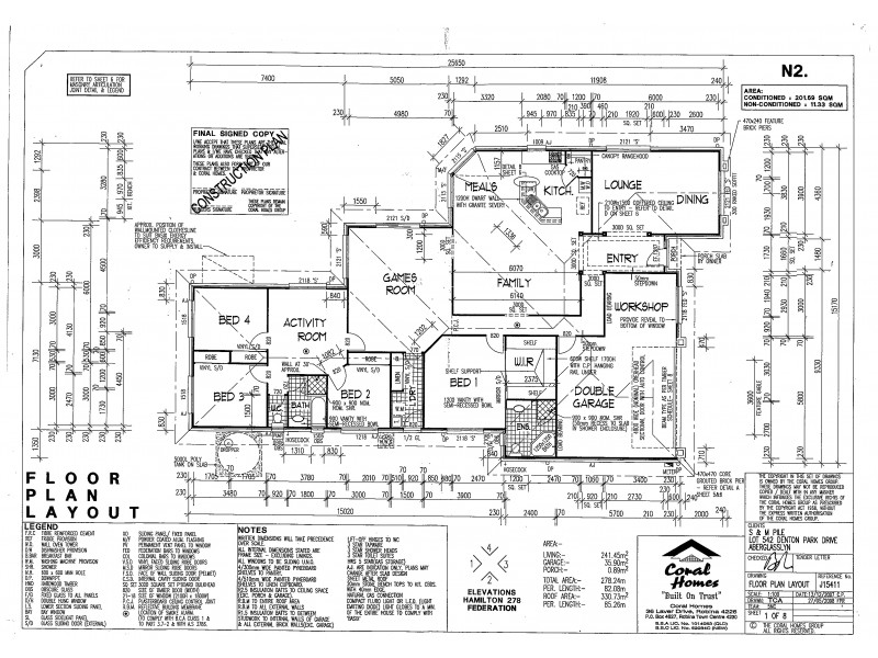 251 Denton Park Drive, Aberglasslyn NSW 2320 Floorplan