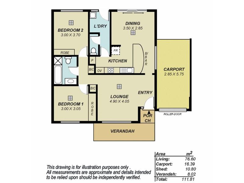 13/21-23 Roycroft Place, Golden Grove SA 5125 Floorplan