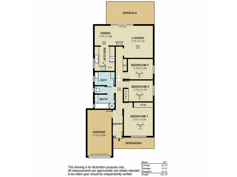 15 Debenham Court, Greenwith SA 5125 Floorplan