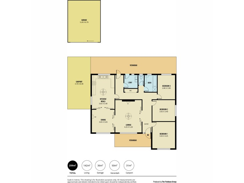 355 Gorge Road, Athelstone SA 5076 Floorplan