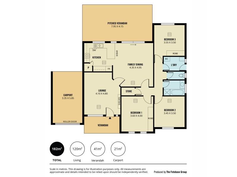22 Coulson Court, Greenwith SA 5125 Floorplan