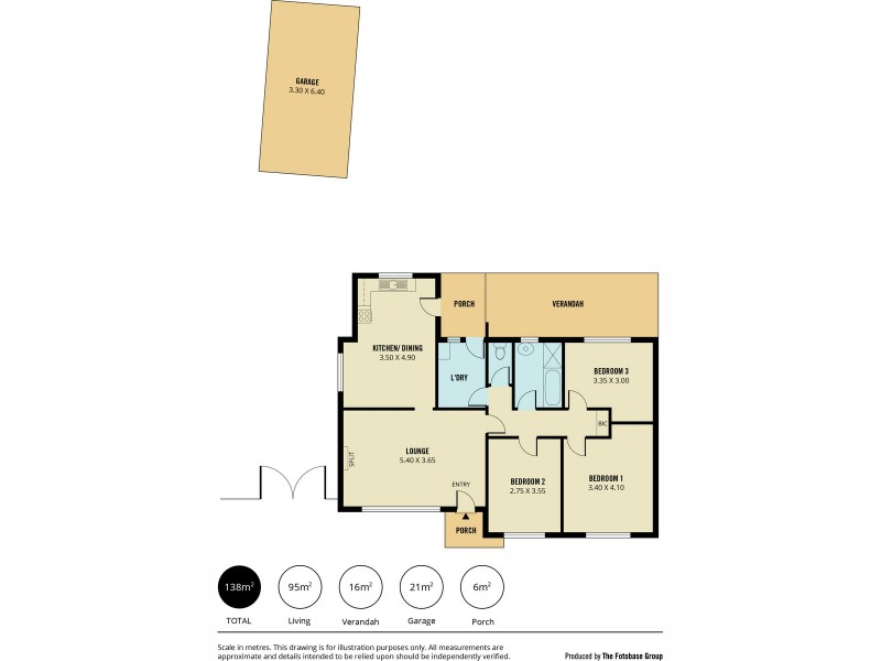 4 Turnworth Street, Elizabeth Downs SA 5113 Floorplan