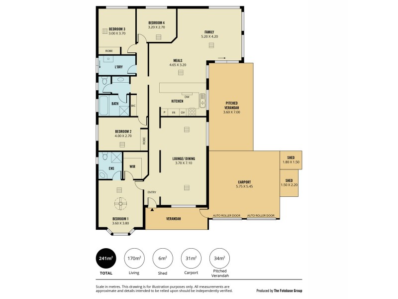 1 Silcock Circuit, Greenwith SA 5125 Floorplan