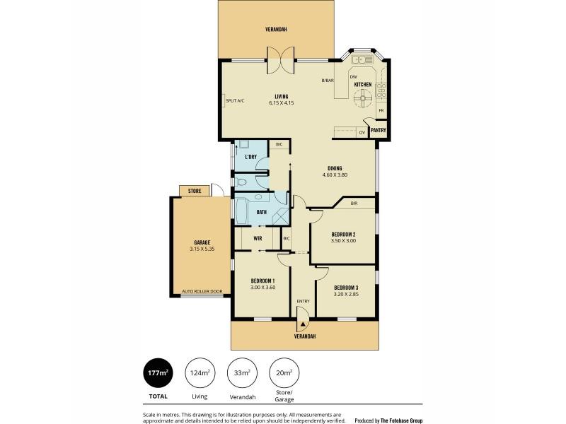 5 Fernbank Avenue, Golden Grove SA 5125 Floorplan