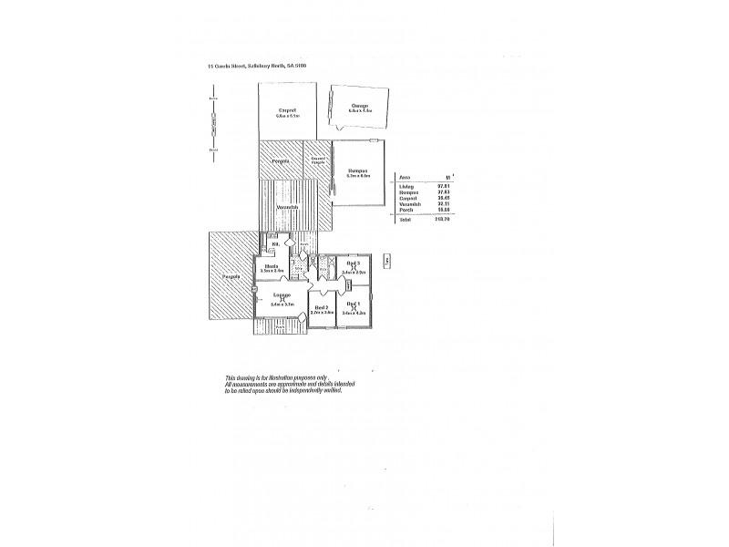 11 Garrin Street, Salisbury North SA 5108 Floorplan