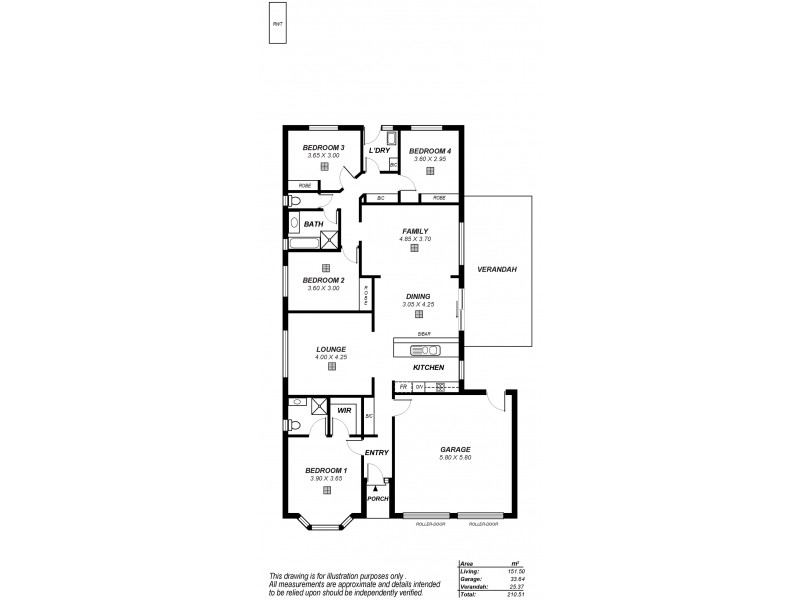 30 Enterprise Circuit, Andrews Farm SA 5114 Floorplan
