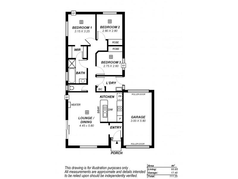 28 Roper Street, Salisbury SA 5108 Floorplan