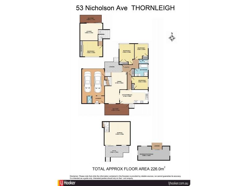 53 Nicholson Avenue, Thornleigh NSW 2120 Floorplan