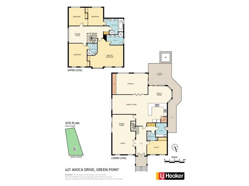 421 Avoca Drive, Green Point NSW 2251 Floorplan