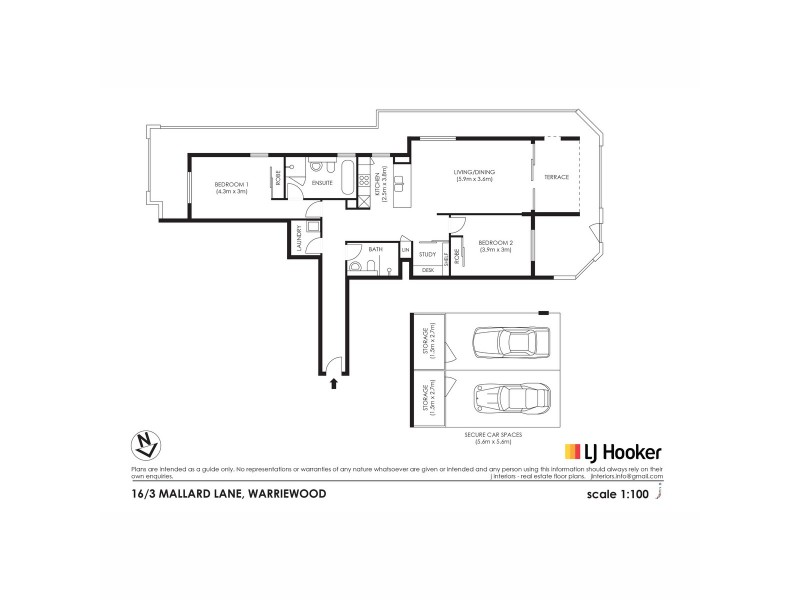16/3 Mallard Lane, Warriewood NSW 2102 Floorplan