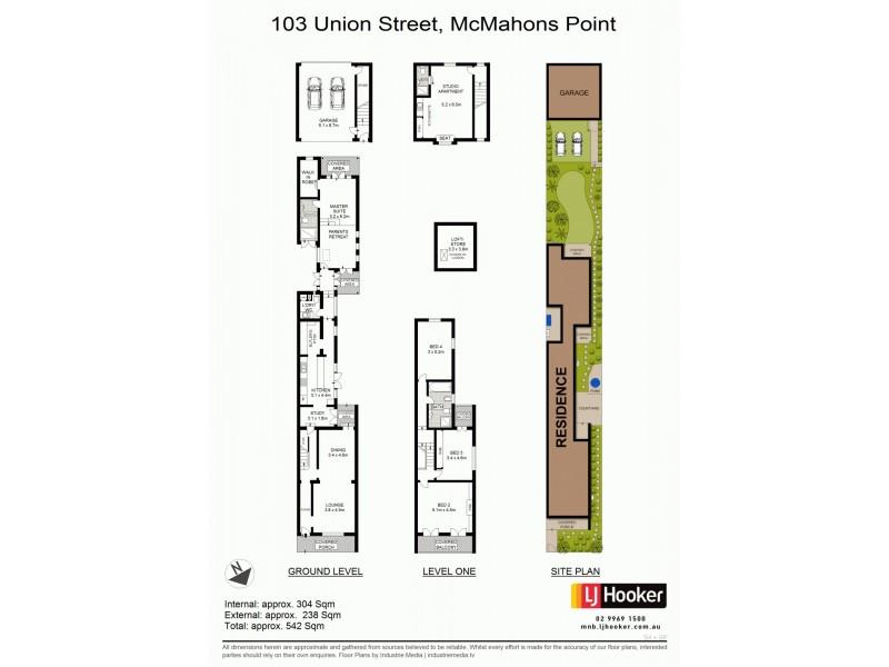 103 Union Street, Mcmahons Point NSW 2060 Floorplan