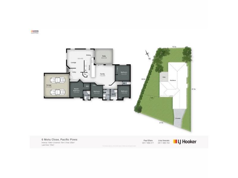 6 Motu Close, Pacific Pines QLD 4211 Floorplan