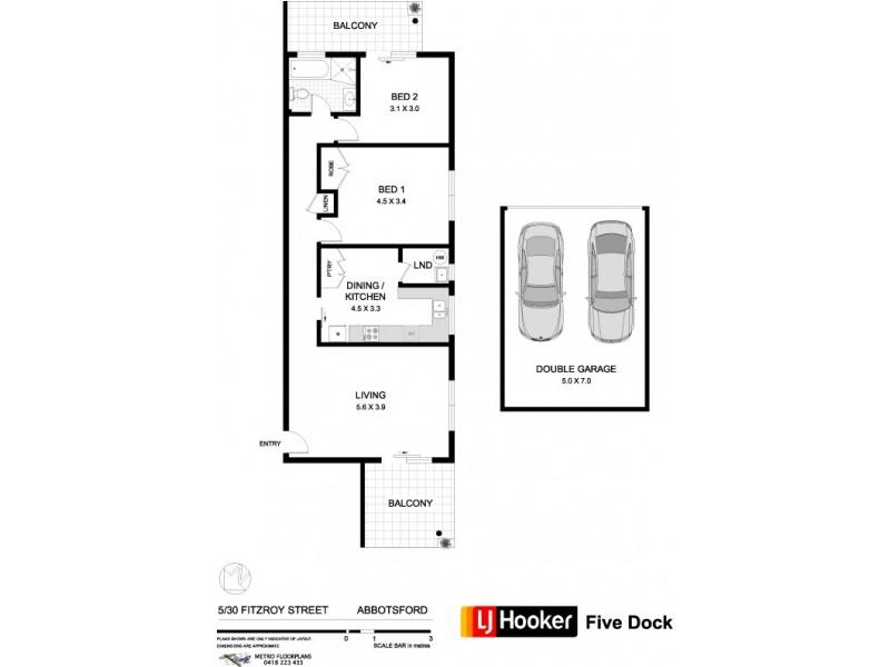 5/30 Fitzroy Street, Abbotsford NSW 2046 Floorplan