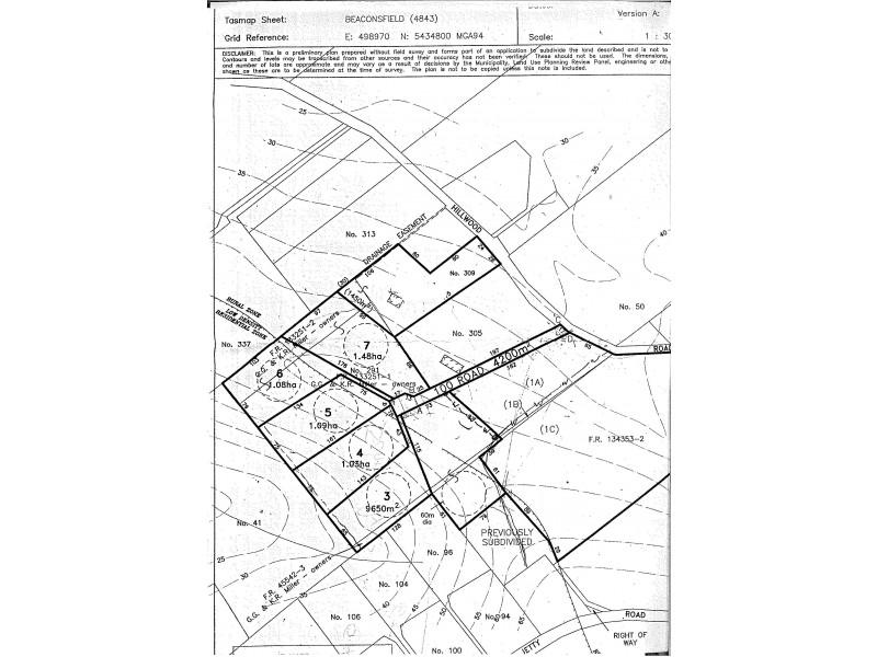 Lot 7 Marks Rise, Hillwood TAS 7252 Floorplan