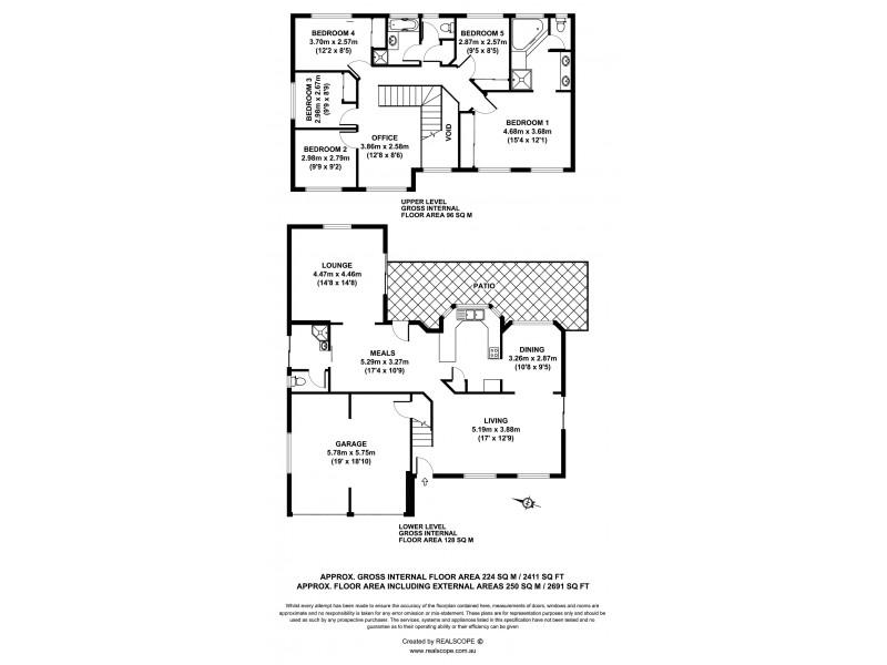308b Horizon Drive, Westlake QLD 4074 Floorplan