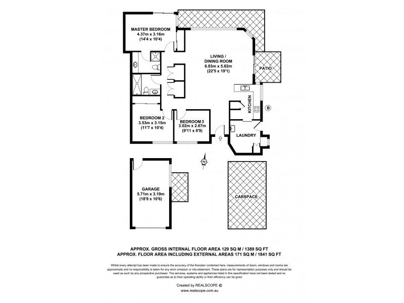 1/5 Golden Crest Place, Bellbowrie QLD 4070 Floorplan