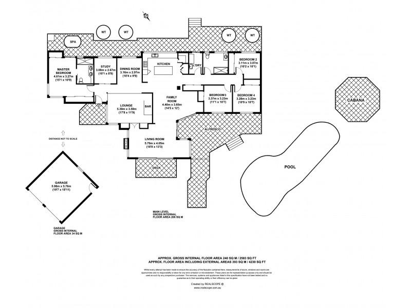 13 Redgum Close, Bellbowrie QLD 4070 Floorplan