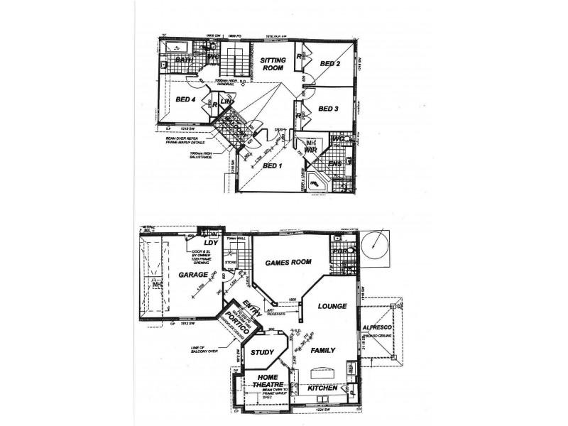 51 Lagoon Crescent, Bellbowrie QLD 4070 Floorplan