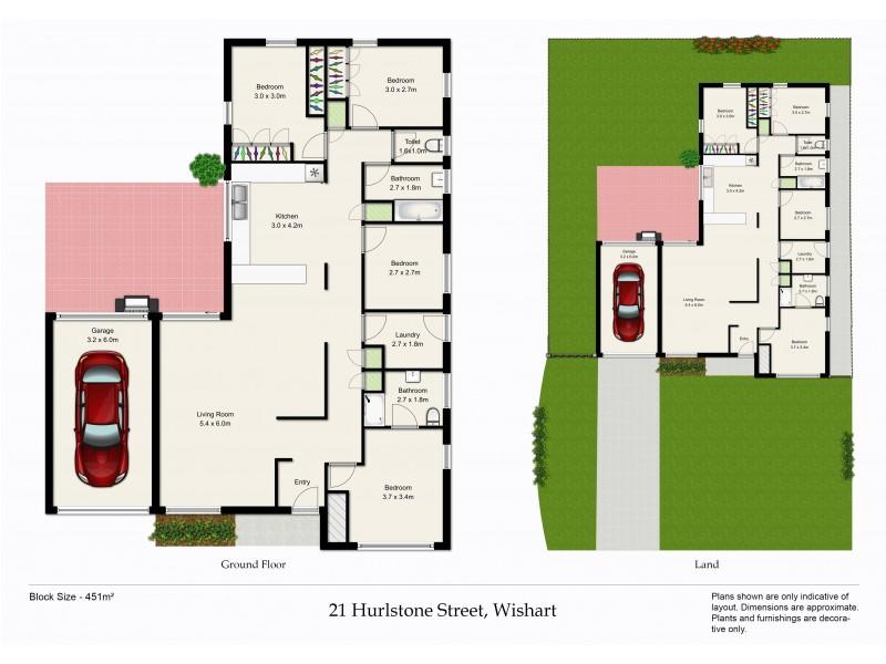 21 Hurlstone Street, Wishart QLD 4122 Floorplan