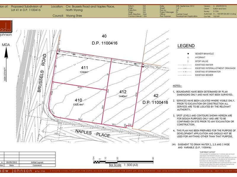 410/of Lot 41 Cnr Naples & Brussells Road, Wyong NSW 2259