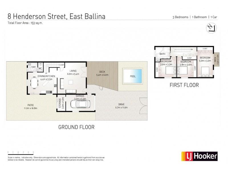 8 Henderson Street, East Ballina NSW 2478 Floorplan