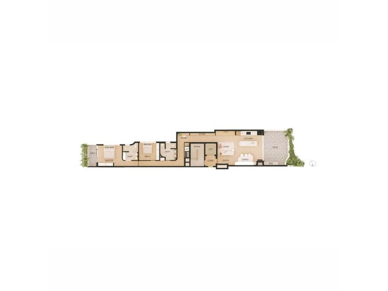 Unit 1/74 Ballina Street, Lennox Head NSW 2478 Floorplan