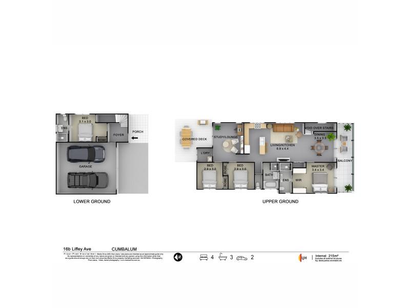 16B Liffey Avenue, Cumbalum NSW 2478 Floorplan