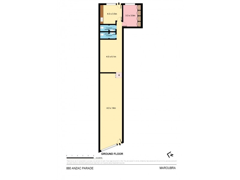 880 Anzac Parade, Maroubra NSW 2035 Floorplan