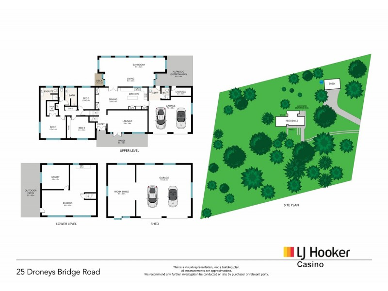25 Droneys Bridge Rd, Fairy Hill NSW 2470 Floorplan